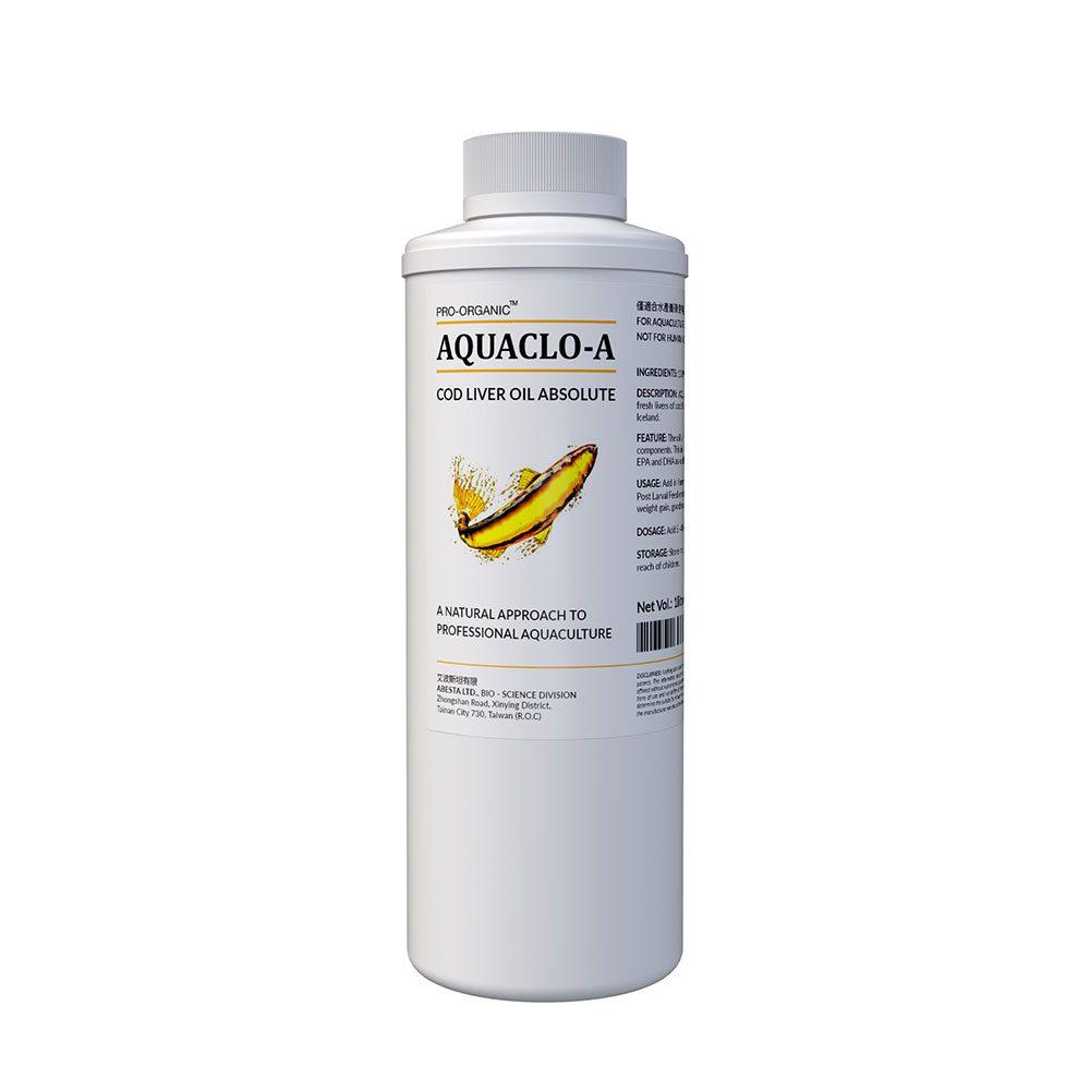 AQUACLO-A (Cod Liver Oil absolute. A natural approach to professional aquaculture.)