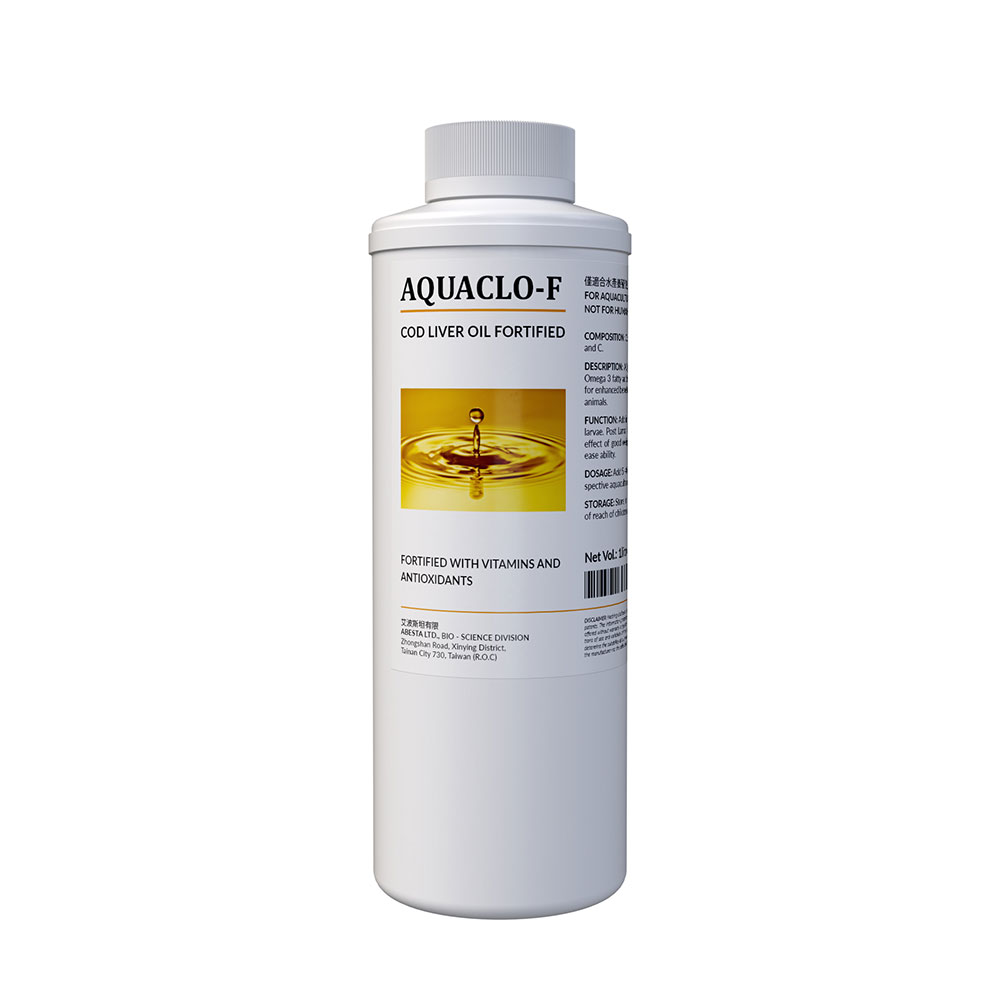AQUACLO-F (Cod Liver Oil fortified with Vitamins and Antioxidants.)