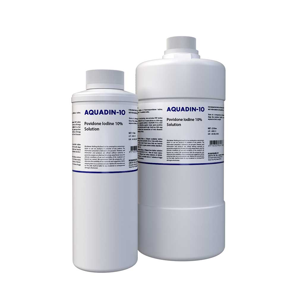 AQUADIN-10 (Povidone Iodine 10% Solution for Auqaculture)