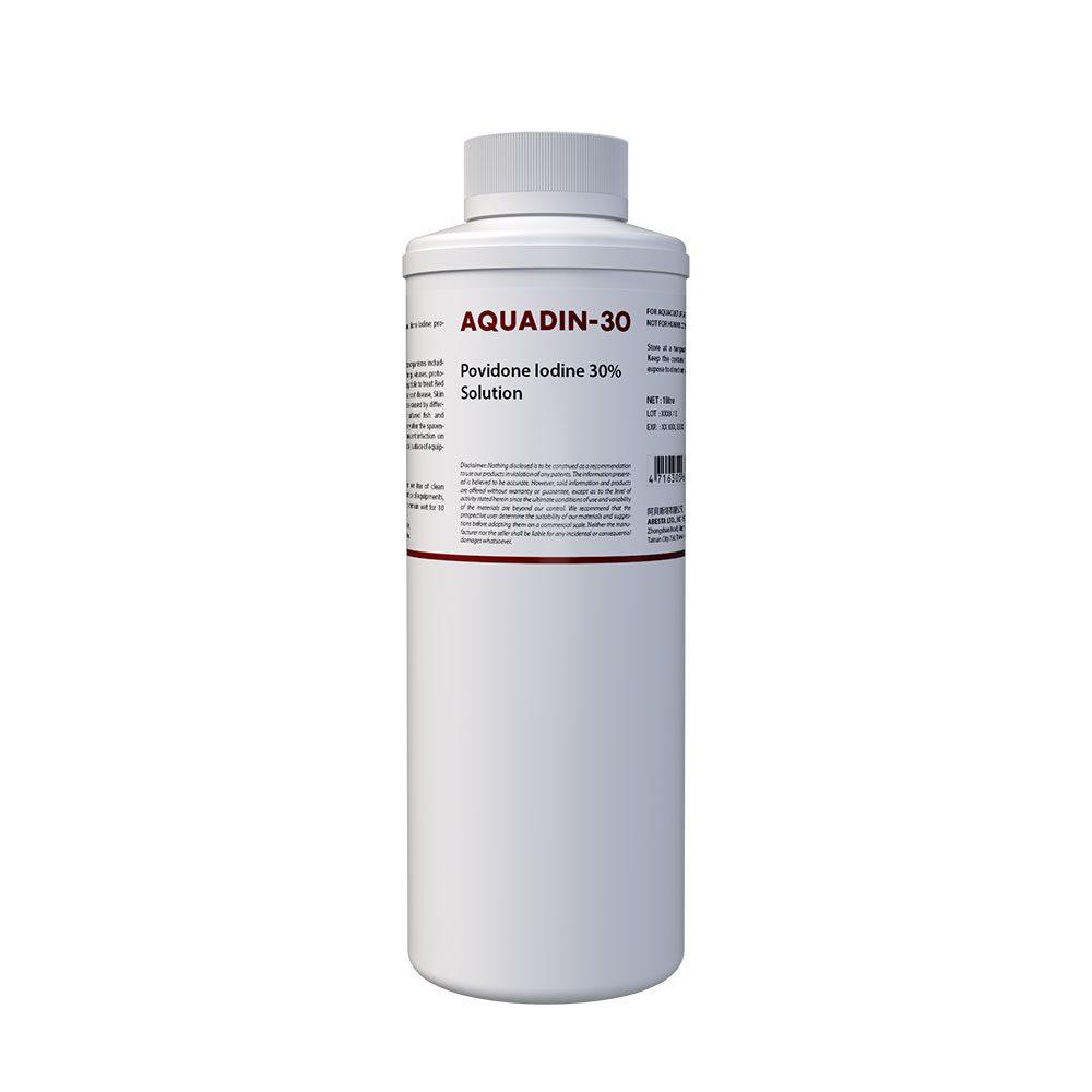 AQUADIN-30 (Povidone Iodine 30% W/V Solution for Aquaculture)