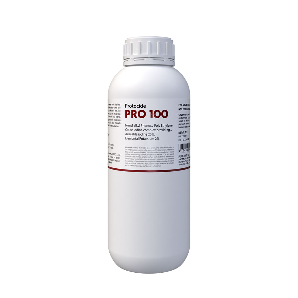 Protocide PRO-100 (Powerful Sanitizing Effect but Safe for Aquatic Animals Such as Fish, Shrimp, Crab etc.)